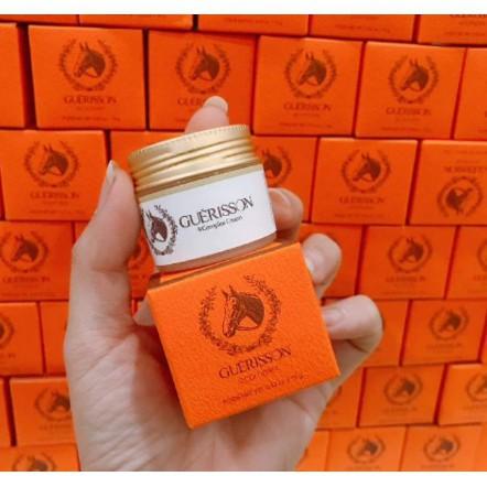 Kem Dưỡng Trắng Da Dầu Ngựa Guerisson 9 Complex Cream Cho Da Khô 15g (mini)