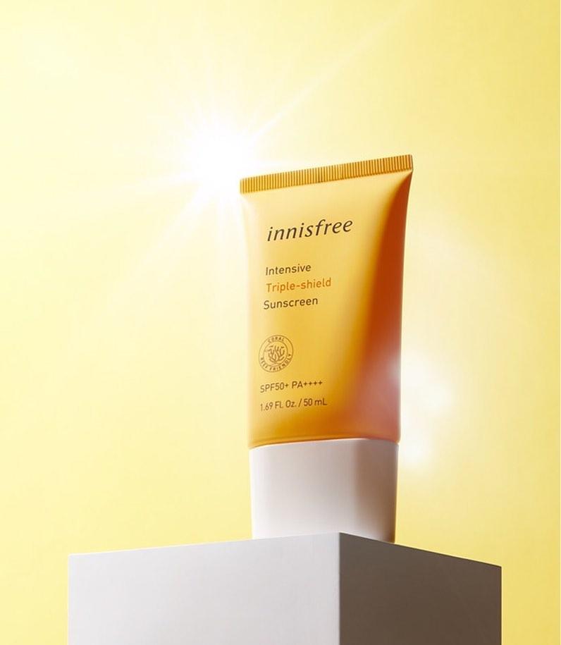 Kem Chống Nắng Innisfree Intensive Triple-Shield Sunscreen SPF 50+ PA++++ 50ml (Mẫu Mới 2020)