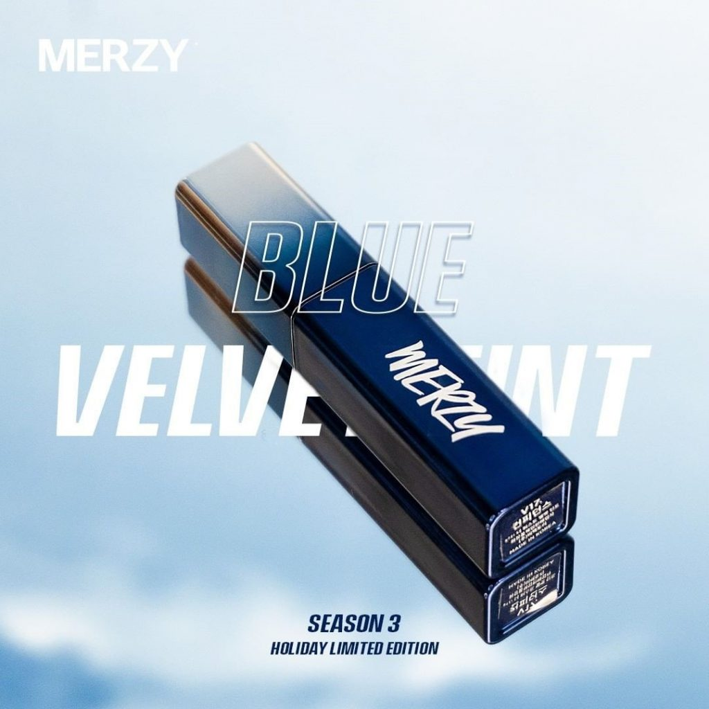 Son Kem Lì Merzy Blue Velvet Tint Season 3 Holiday Limited Edition