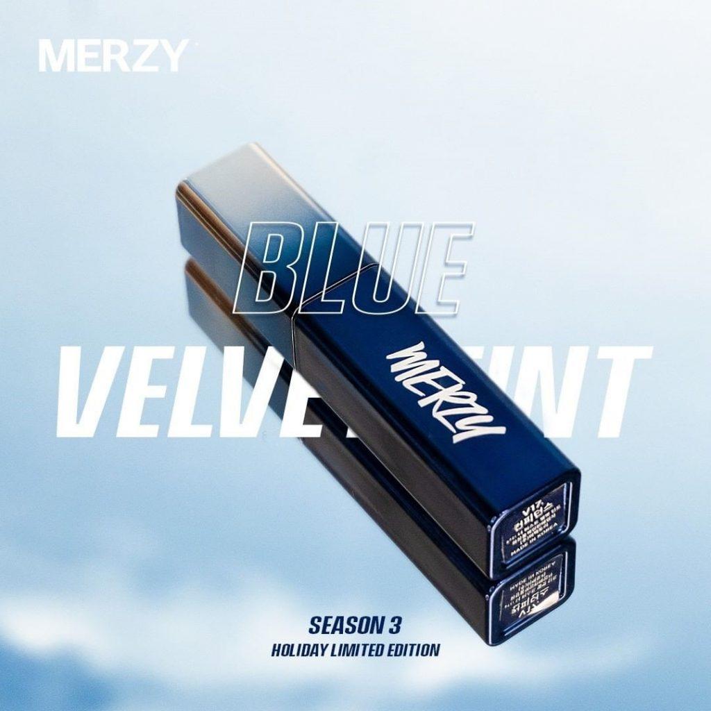 Son Kem Lì Merzy Blue Velvet Tint Season 3 Holiday Limited Edition