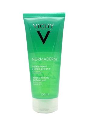 Gel rửa mặt ngăn ngừa mụn Vichy Normaderm Nettoyant Deep Cleansing Purifying Gel 50ml 100ml