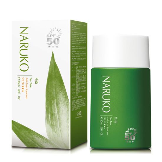 Kem Chống Nắng Naruko Tea Tree Anti  Acne Sunscreen SPF50 PA+++ (30ml)