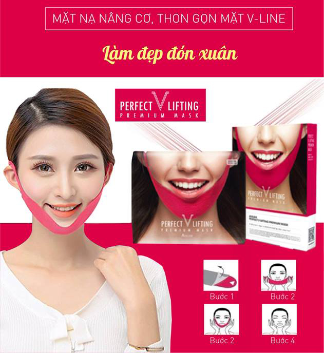 Mặt Nạ V Line Perfect V Lifting Premium Mask