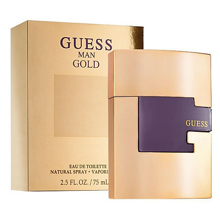 Guess Man Gold EDT 75ml