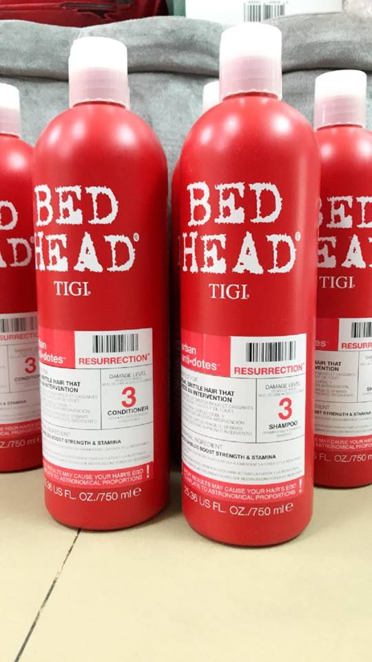 Bộ Gội Xả TiGi Bed Head USA 750mlx2 (Red)