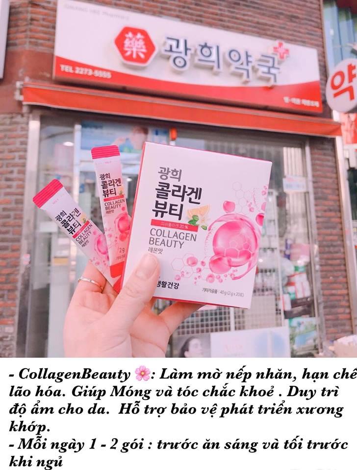 Hộp Uống Collagen - Cấp Nước (10 gói)