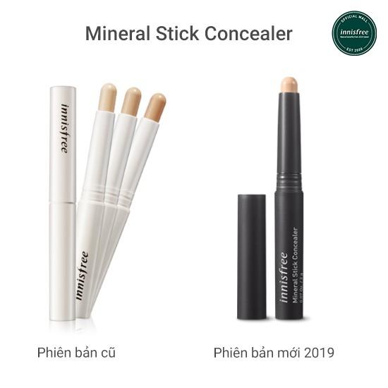 bút che khuyết điểm dạng thỏi innisfree Mineral Stick Concealer 2g