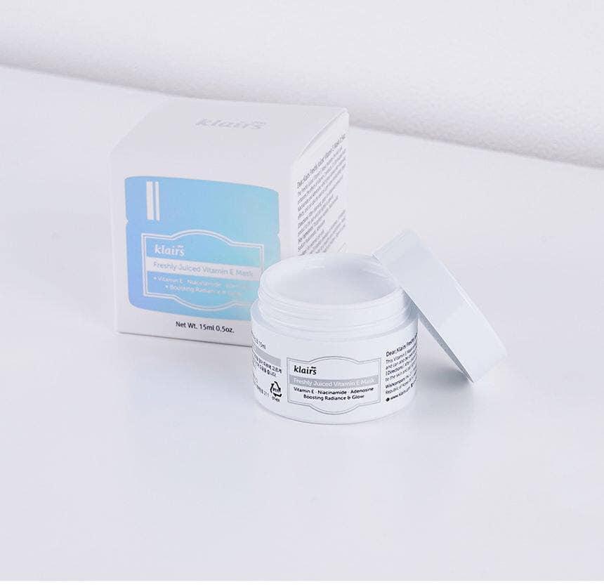 Mặt Nạ Ngủ Vitamin E Dưỡng Ẩm, Chống Lão Hóa Klairs Freshly Juiced Vitamin E Mask 15 ml