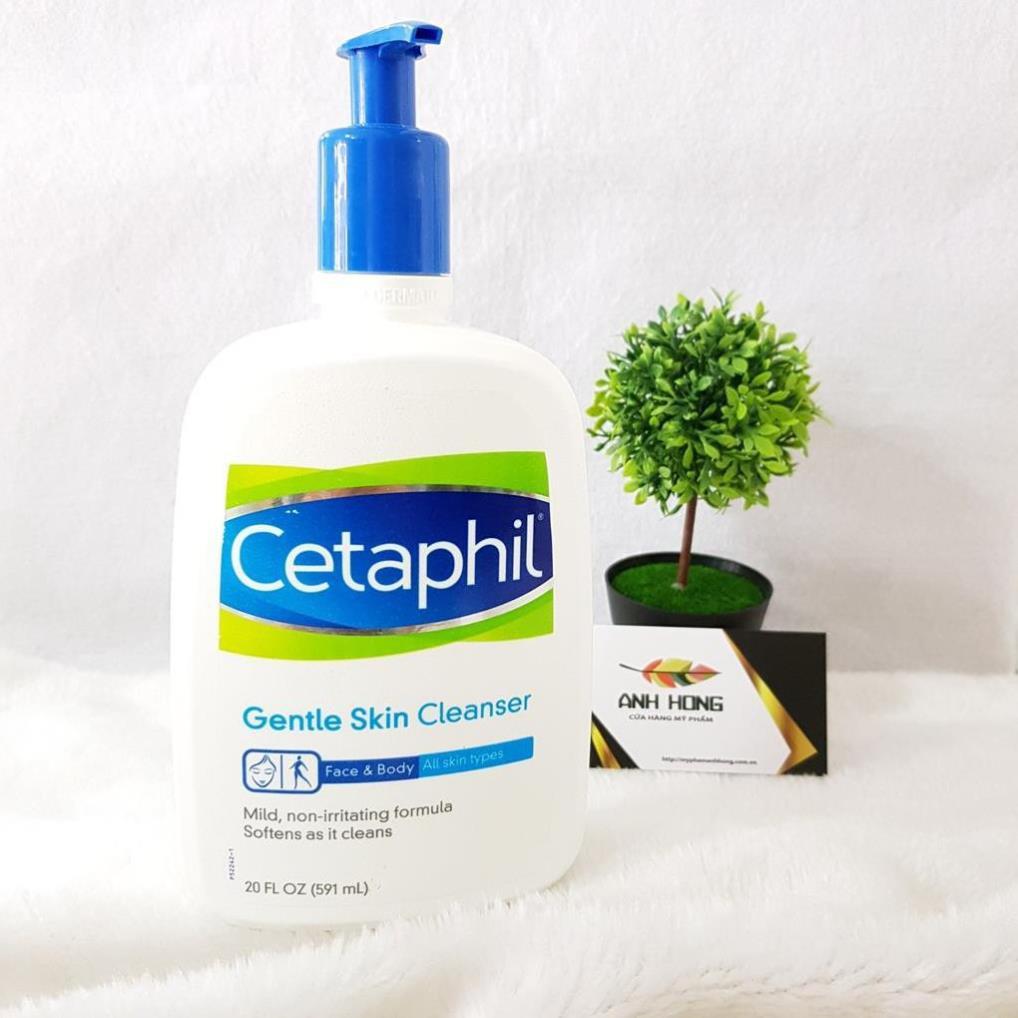 Sữa rửa mặt Cetaphil Gentle Skin Cleanser 591ml