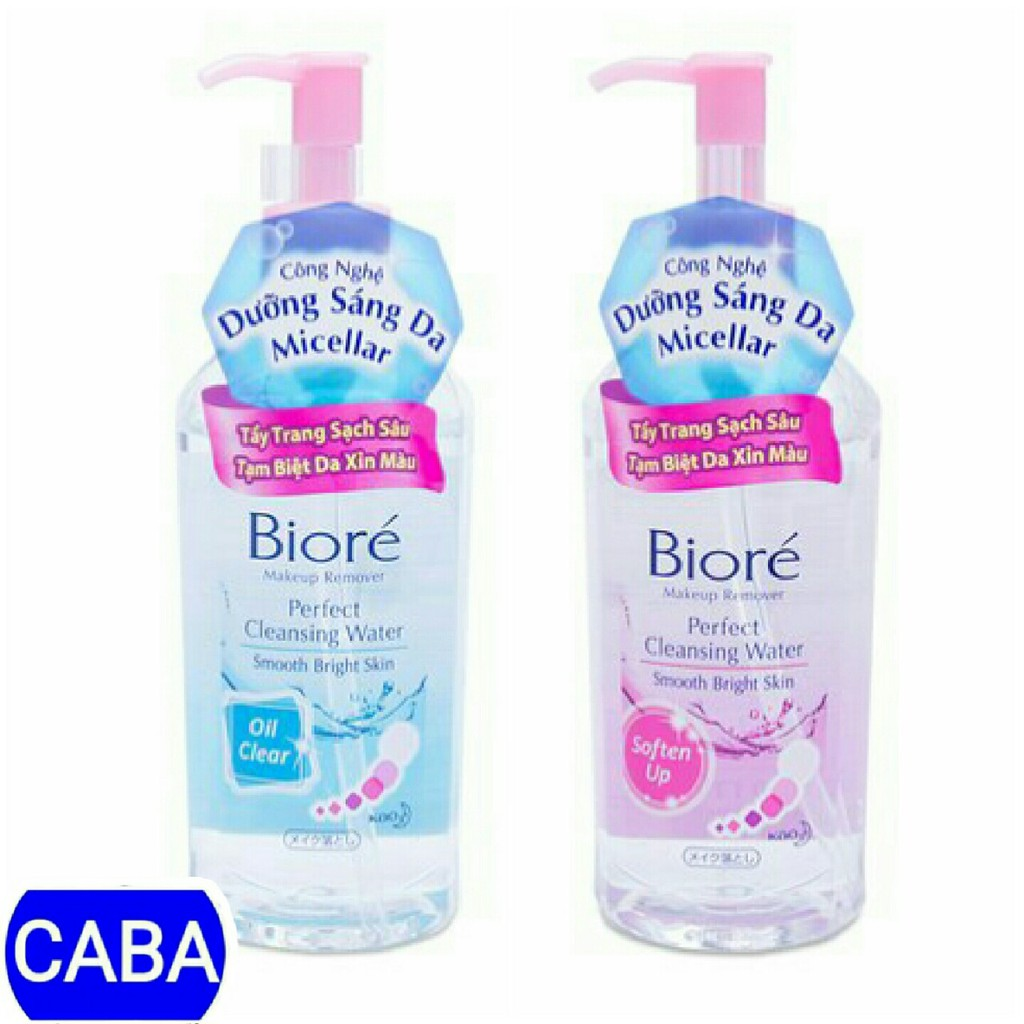 Nước Tẩy Trang Biore Perfect Cleansing Water 300ml