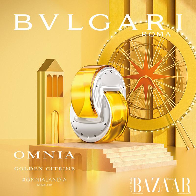 Nước hoa nữ Bvlgari Omnia Golden Citrine EDT 65ml ( Tester )