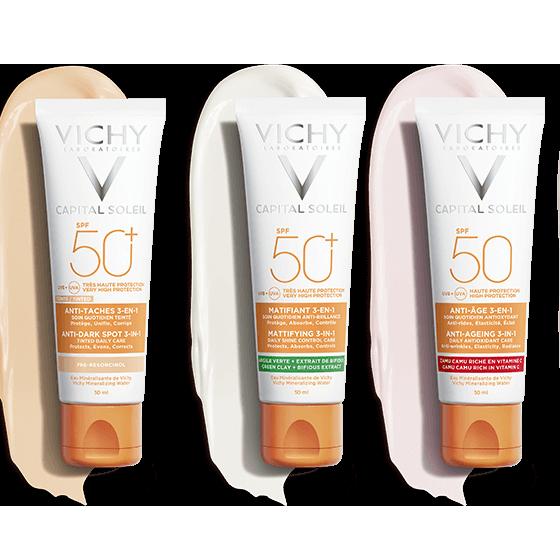 Kem Chống Nắng Vichy CAPITAL SOLEIL New ( 3 loại mới)