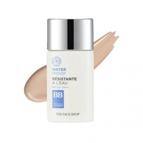 Kem Nền BB Chống Nước The Face Shop Waterproof BB Cream SPF50/PA+++ 50ml
