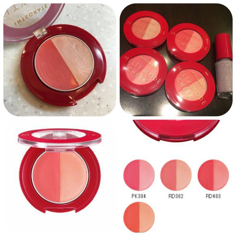Phấn má hồng shiseido integrate melty mode cheek (dạng kem)