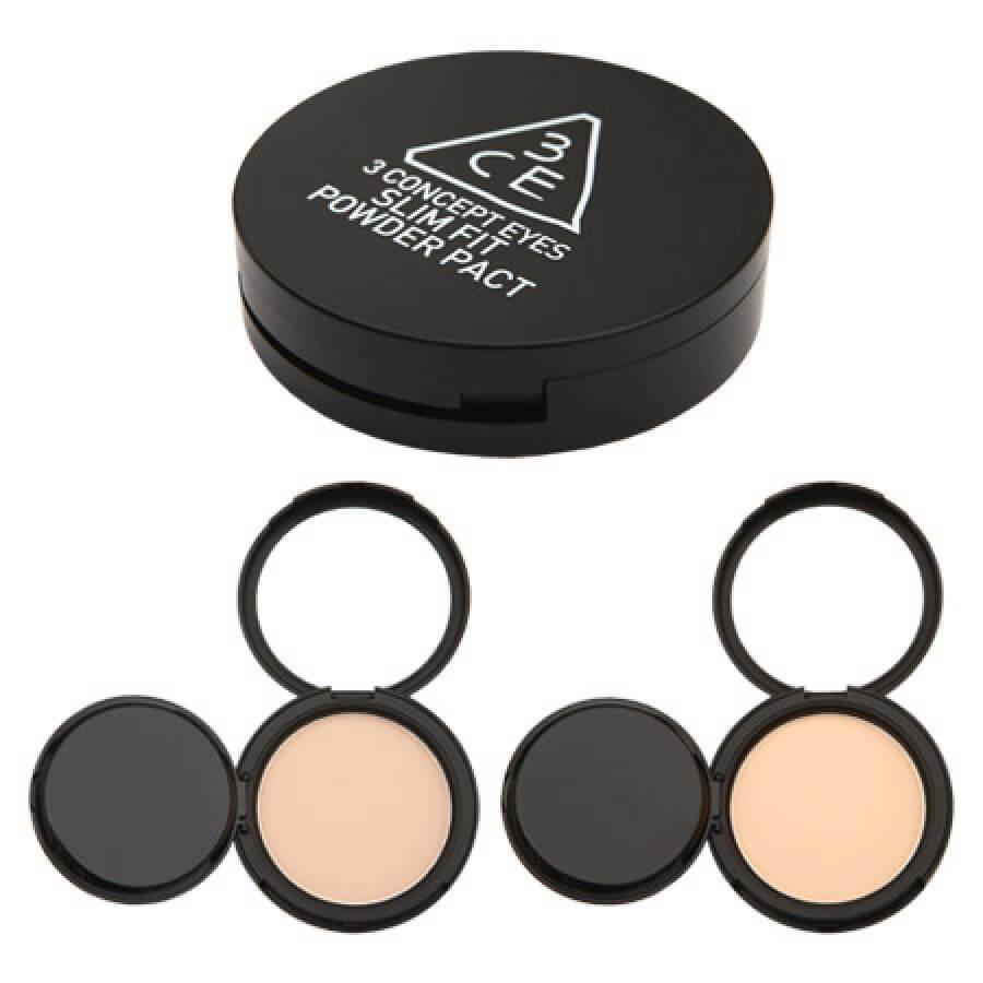 Phấn phủ siêu mịn 3 Concept Eyes  Slim Fit Powder Pact 3CE