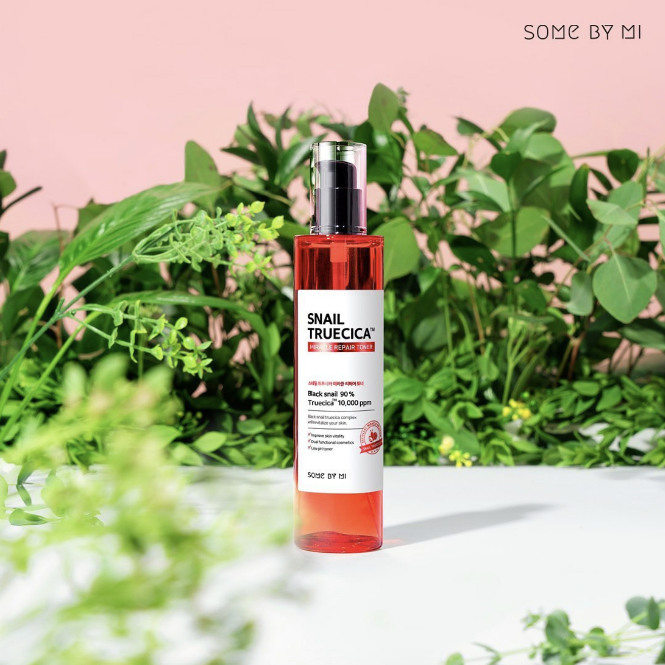 Nước hoa hồng Snail Truecica Miracle Repair Toner Some By Mi 135ml