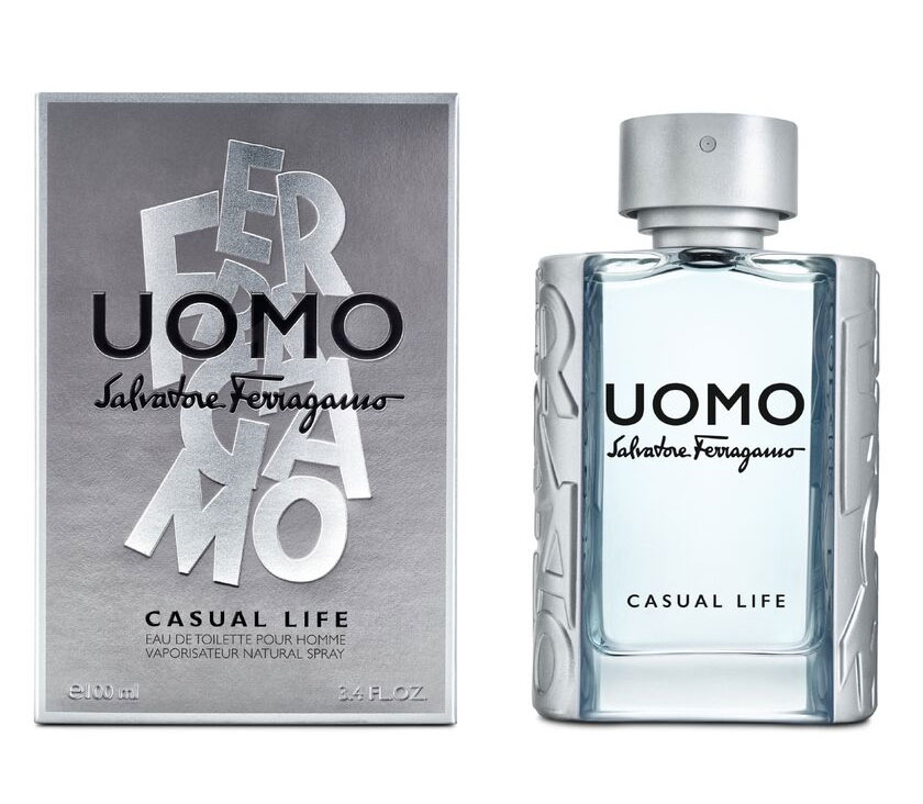 Salvatore Ferragamo Uomo Casual Life For Men 100ml EDT