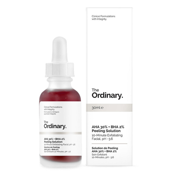 Serum tẩy da chết The Ordinary AHA 30% + BHA 2% Peeling Solution