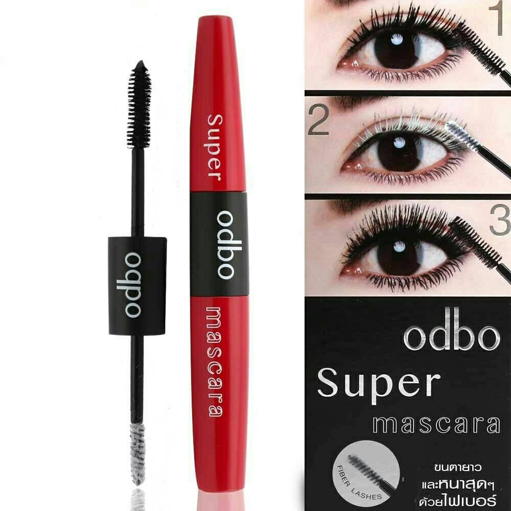 Mascara 2 đầu dài và cong mi ODBO Super OD911