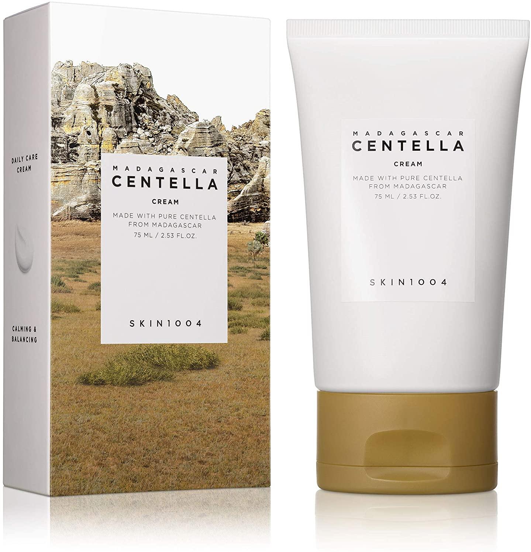kem dưỡng ẩm chiết xuất rau má Skin1004 Madagascar Centella Cream  ( Nắp Đục )