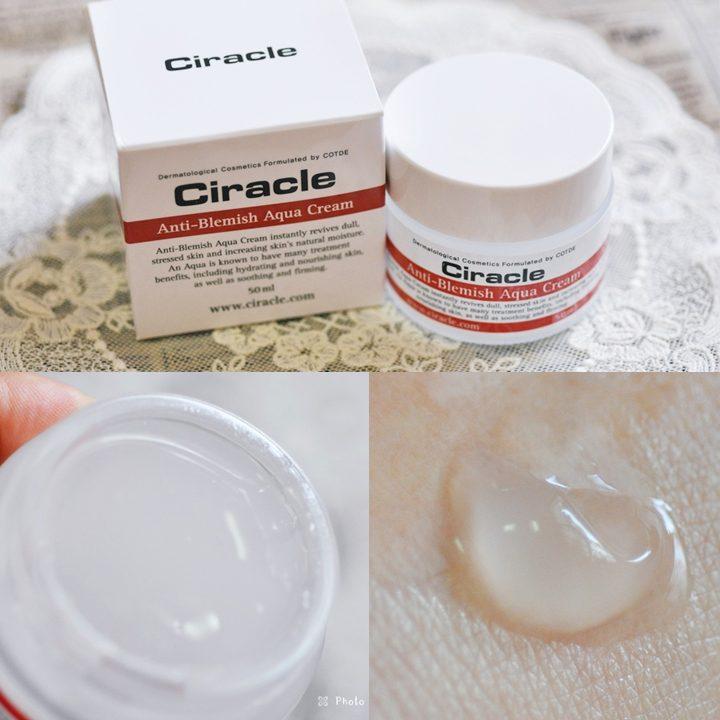 Kem Dưỡng Da Dành cho da mụn Ciracle Anti-Blemish Aqua Cream (50ml)