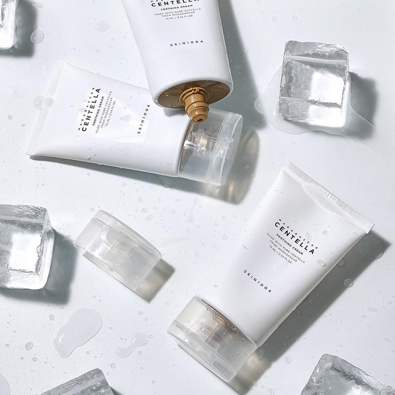 Kem Dưỡng Ẩm Làm Diệu Phục Hồi Da Skin1004 Madagascar Centella Soothing Cream ( Nắp Trong New )