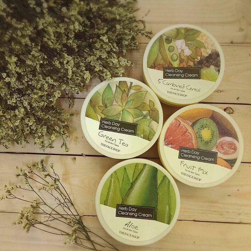 Kem Tẩy Trang Herb Day 365 Cleansing Cream