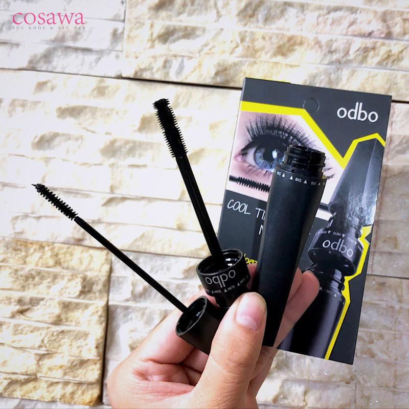 Mascara dài và dày mi không thấm nước Odbo Cool Tips Twince OD918