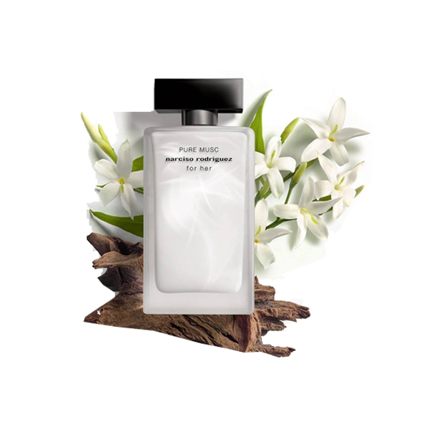 NARCISO RODRIGUEZ Pure Musc For Her EDP 100ml ( Tester ) Trắng 2019