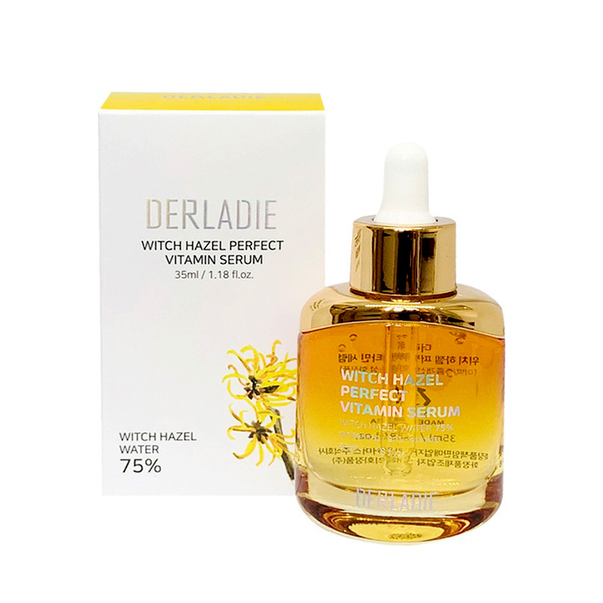 ( serum )Tinh Chất Trị Mụn Derladie Witch Hazel Perfect Vitamin Serum (35ml)