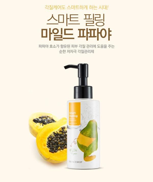 Gel Tẩy Tế Bào Chết Đu Đủ Smart Peeling Mild Papaya Peeling The Face Shop