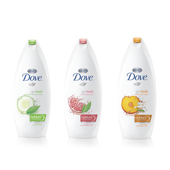 Sữa tắm Dove Go Fresh 500ml