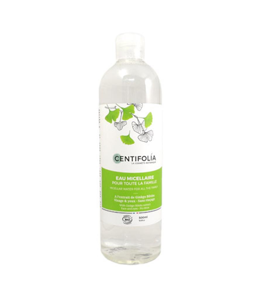 Nước tẩy trang rau má Centifolia Micellaire Water Pháp 500ml