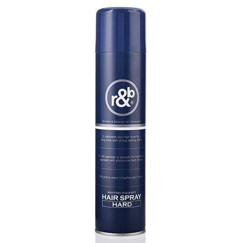 Keo xịt tóc R&B hair spray hard thảo dược trị liệu 330ml Korea (cứng)