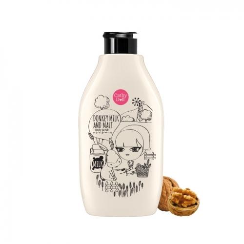 Tẩy tế bào chết toàn thân Sữa Lừa & Mạch Nha Cathy Doll Donkey Milk & Malt Body Scrub 300ml