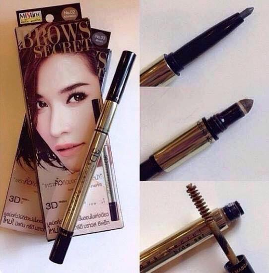 Chì Kẻ Mày 3D Brows Secret Mistine