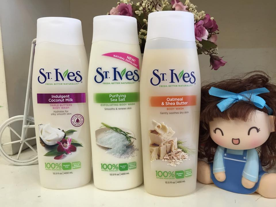 SỮA TẮM ST.IVES BODY WASH 400ML