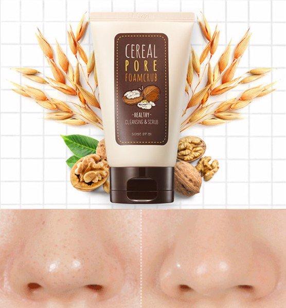 Sữa Rửa Mặt Some By Mi Cereal Pore Foamcrub 100ml