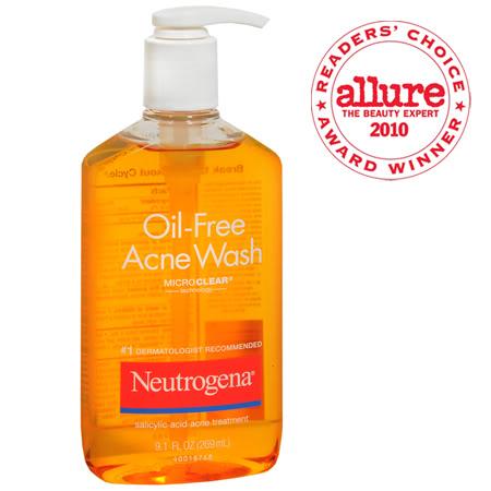 Sữa Rửa Mặt Neutrogena Oil-Free Acne Wash 177ml - 269ml