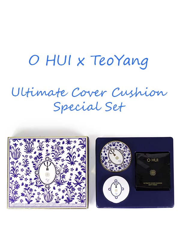 Set Phấn Nước Ohui Ultimate Cushion Teo Yang 2017