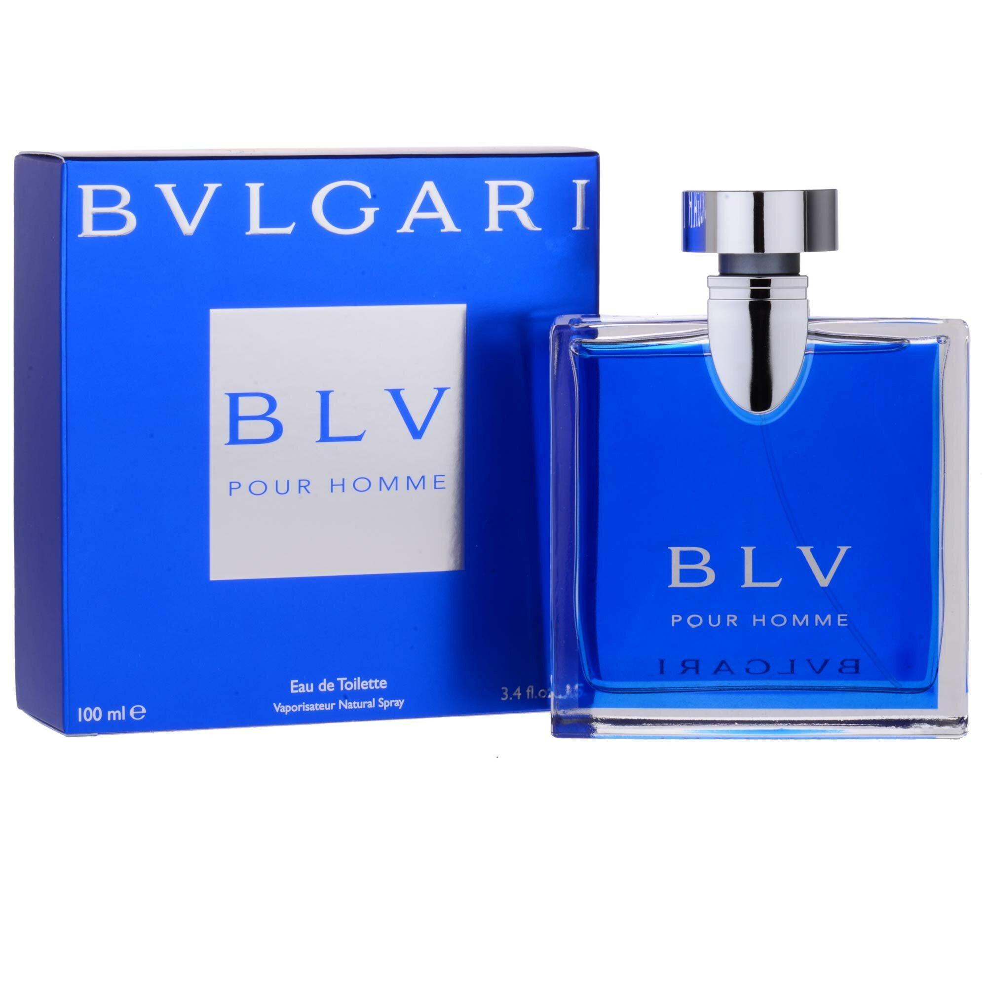 BVLGARI - BLV Pour Homme  EDT 100ml (xanh dương)