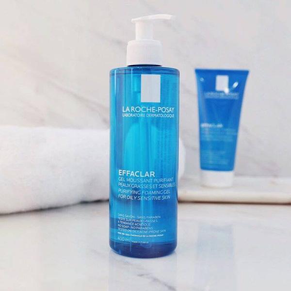 gel rữa mặt laroche posay effaclar gel  50ml -  400ml ( cho da dầu , mụn)