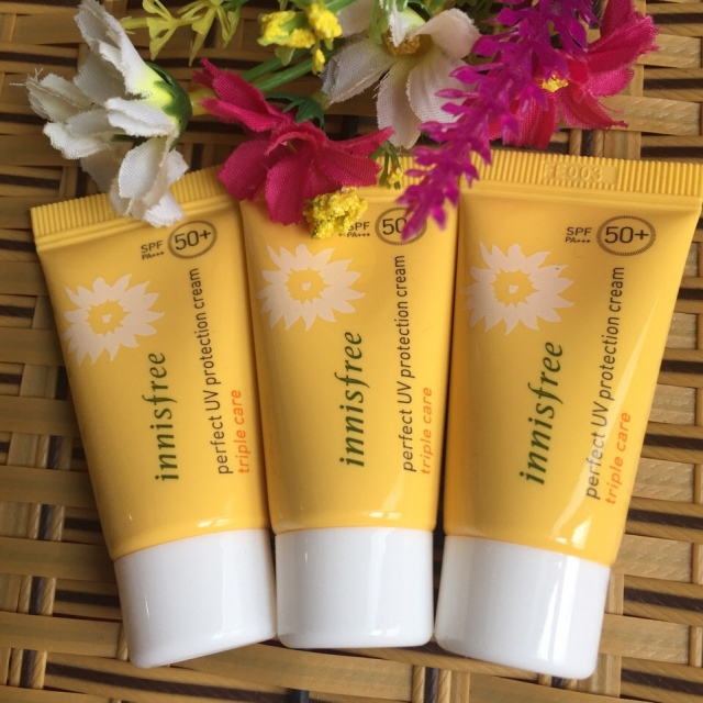 KCN INNISFREE PERFECT UV PROTECTION CREAM TRIPLE CARE SPF 50+ PA+++ (mini)