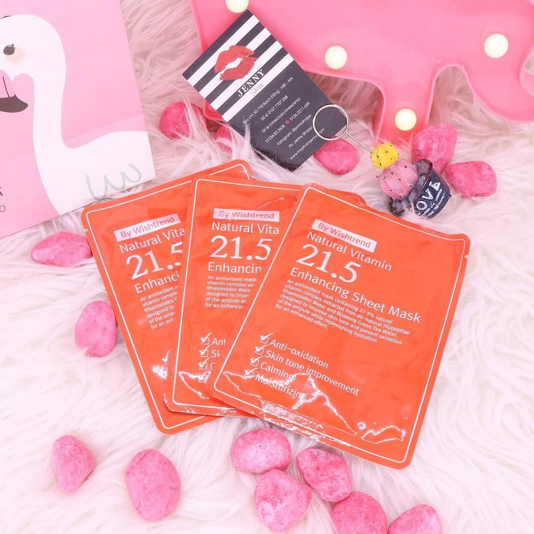 Mặt nạ giấy OST Natural Vitamin 21.5 Enhancing Sheet Mask