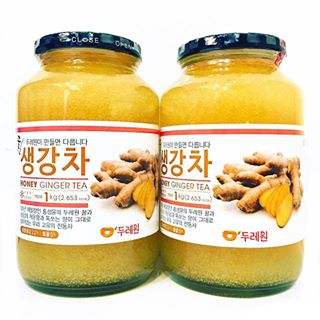 Trà Gừng Mật Ong Honey GingerTea Korea cao cấp 1kg Hàn Quốc
