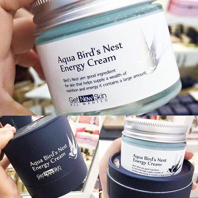 Kem dưỡng da tổ yến Aqua Bird s Nest Energy Cream