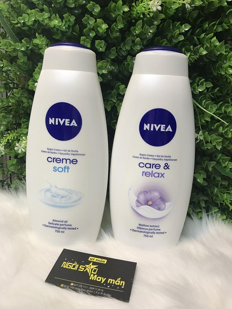 Sữa tắm Nivea 750ml