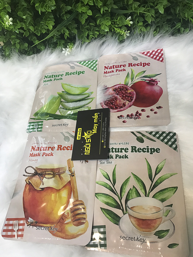 Mặt Nạ Giấy Secret Key Nature Recipe Mask Pack
