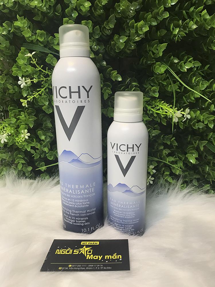 Xịt khoáng Vichy Thermal spa water 50ml-150ml - 300ml (Pháp)