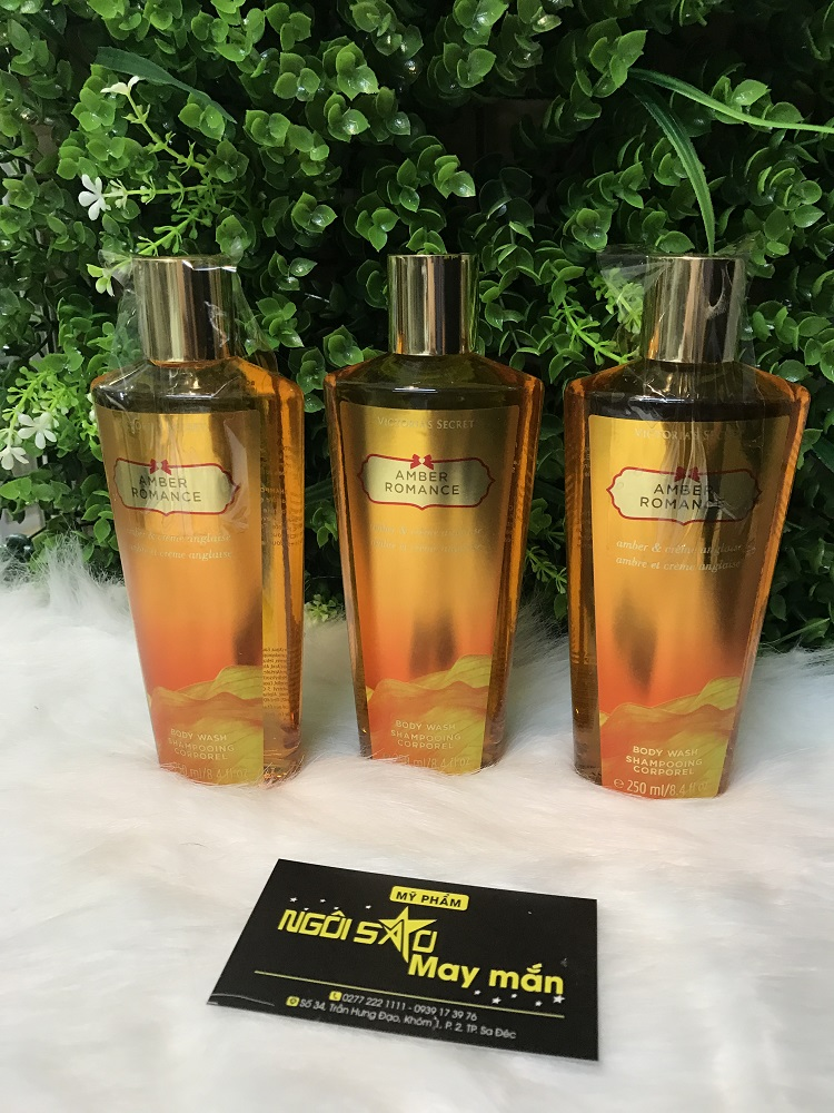 Sữa Tắm Victoria s Secret Body Wash Amber Romance 250 ml